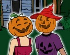 Juego Pumpkin Couples Kiss